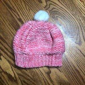 6/$20 Carter's lined knit beanie w/ Pom Pom 9-18m